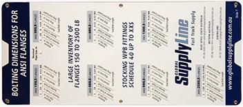 Flange Table ASME PN AS2129 4331 4087 ISO700501 BS10EFH MSSSP44