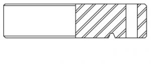 6B FLANGE (R/RX RING GROOVES)