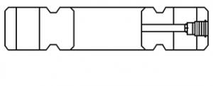 6BX BLIND FLANGE (BX RING GROOVES)