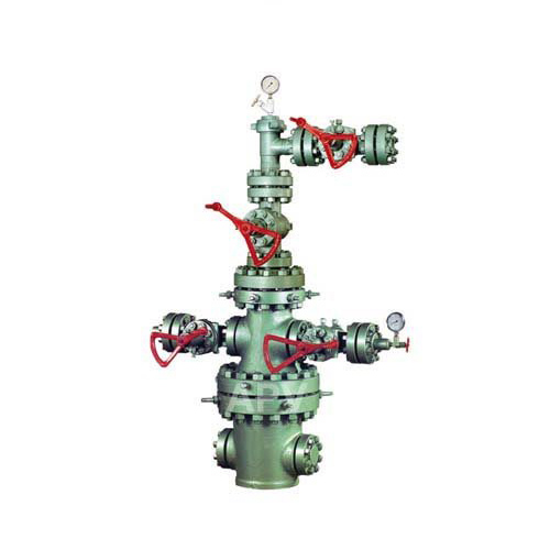 Wellhead Christmas Tree Diagram: Complete APV Wellhead Comprising A, B & C Section And